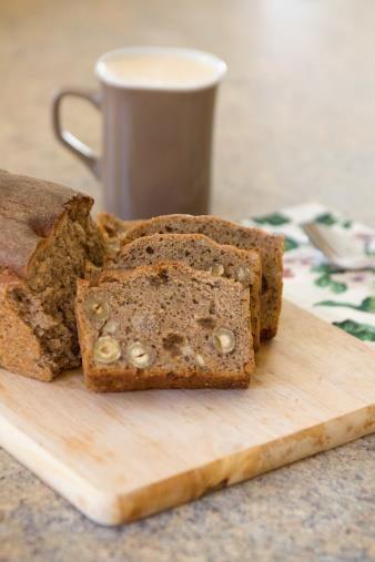 Sugarchallenge proof ontbijten: Glutenvrij-suikervrij vruchten/ notenbrood (met of zonder spijs)