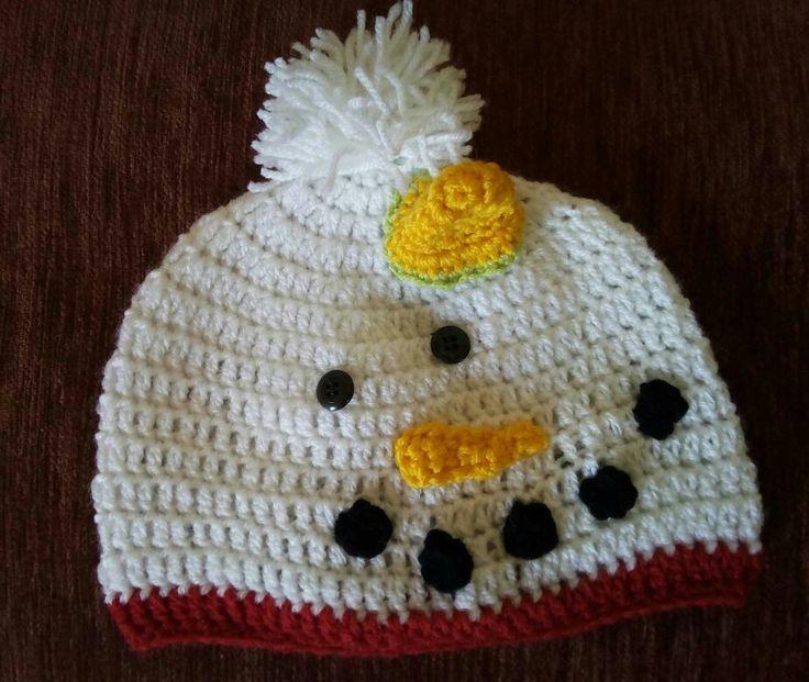Snowman Christmas hat