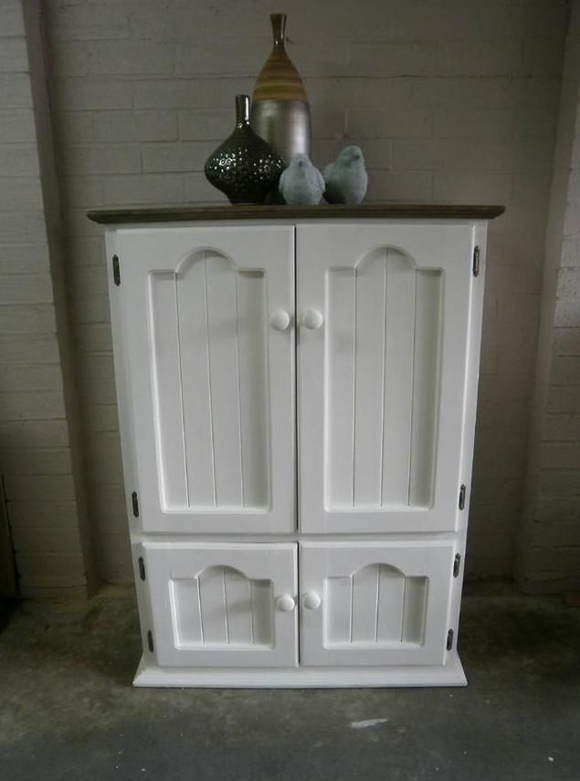 French Country Beach House Hamptons Style TV Cabinet Childrens Cupboard Robe