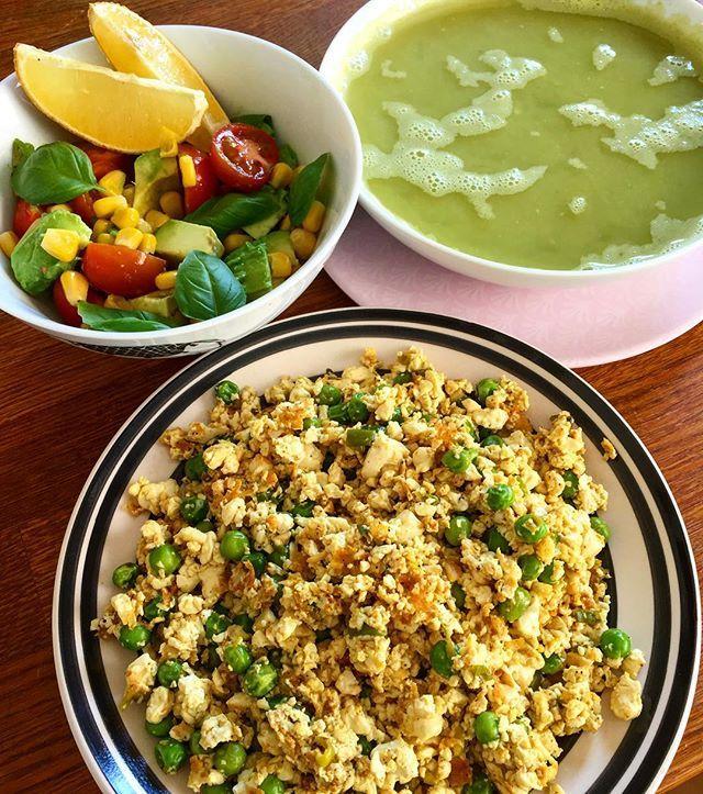 My vegan lunch today #vegan #lunch #crueltyfree #eatclean #healthy #whatveganseat #tofu #plantbased #food #foodie #foodporn #instagood #instadaily #yummy #inspiration #happy #life #vegetarian #diet #fitness