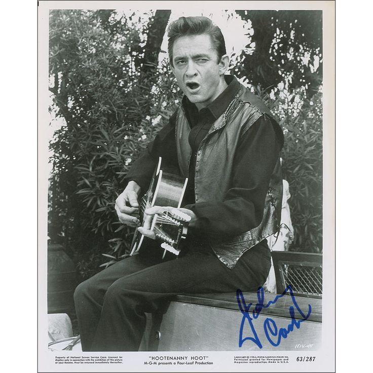 Johnny Cash stars in the musical movie, Hootenanny Hoot. 1963
