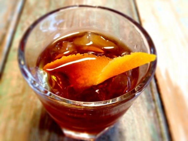 East-African Spritz (coffee, citrus and rum)