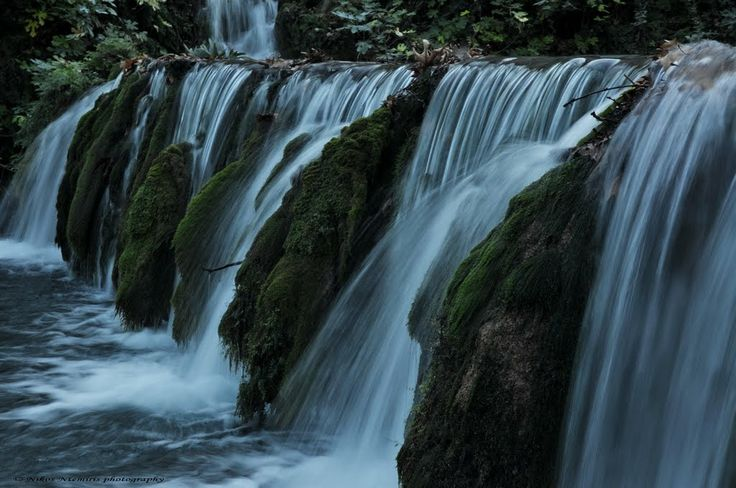 Small waterfalls in Livadia