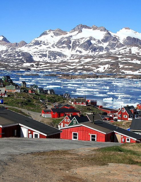Tasiilaq Greenland is an icy wonderland inhabited by teams of sled dogs, colossal glaciers, and home to the world's second largest ice sheet.