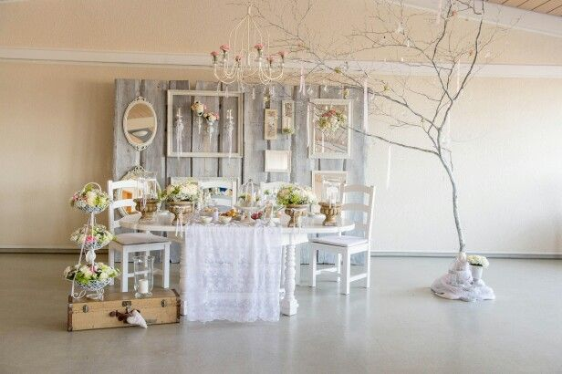 Wedding deko table