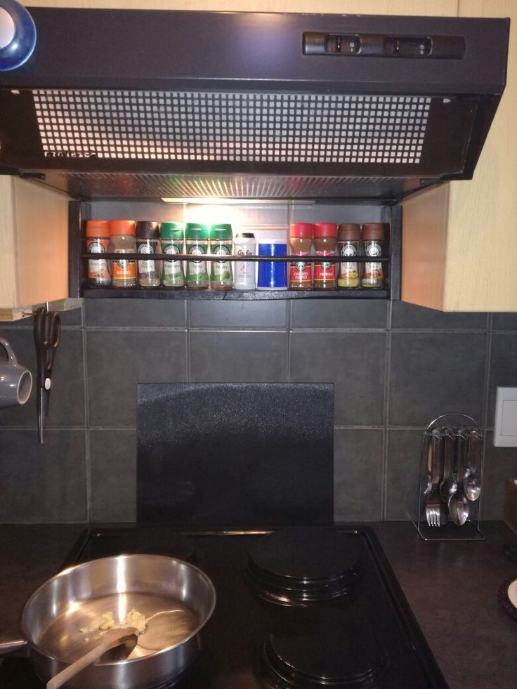 Spice rack, reclaimed pallet wood