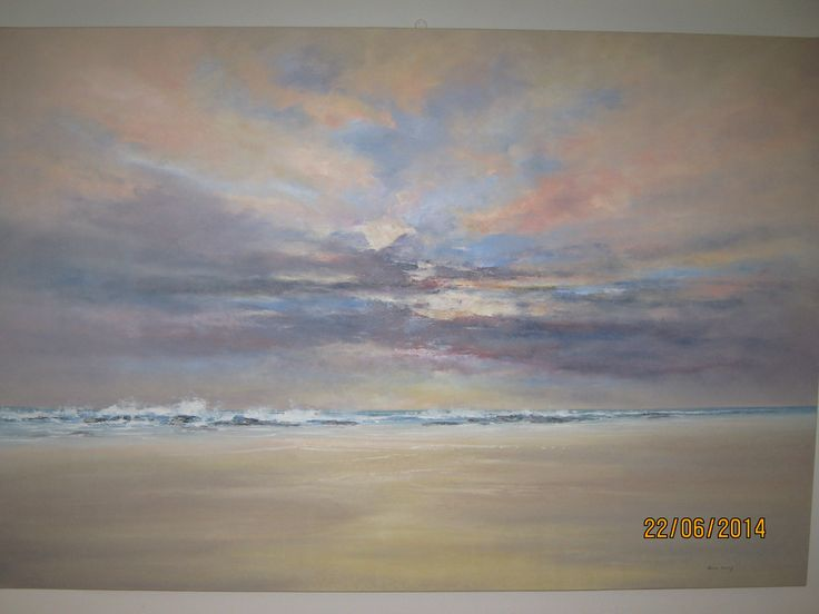 Strolling R16500 Oil on canvas board ( Boxed)