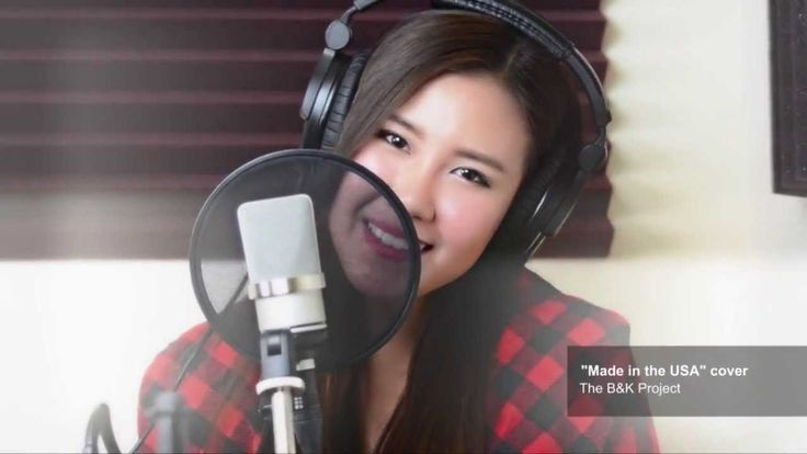 https://www.youtube.com/watch?v=rb1yQtHvTSE Made in the USA - Demi Lovato (The B&K Project Cover)