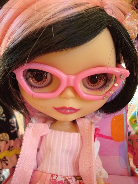 blythe: Dolls Blythe 彡, Pink Blythe, Dolls Doll, Blythe Dolls, Eye Blythe, Blythe Beautiful, Beautiful Blythe, Hipster Pink, Blythe Dolly