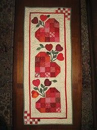 valentine table runners free patterns | Thread: Looking for table runner pattern (valentine)