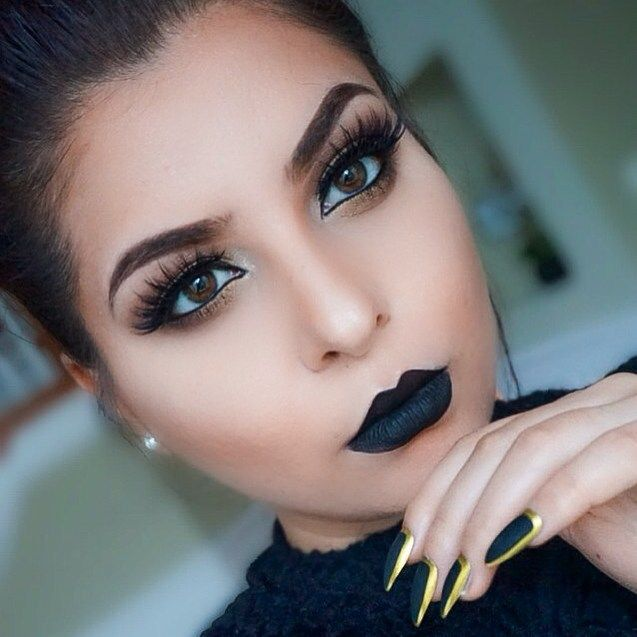 25+ best ideas about Black lipstick makeup on Pinterest | Black ...