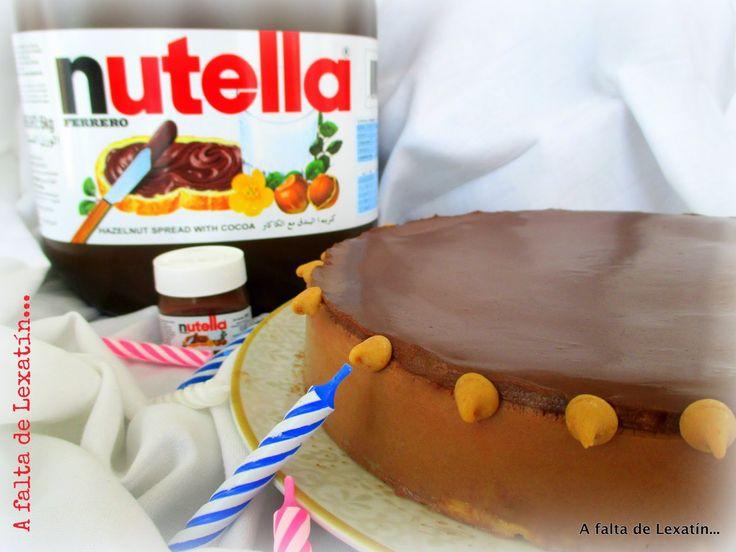 Tarta mousse de Nutella con y sin Thermomix