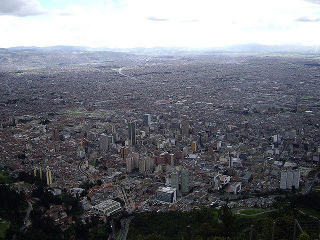 Bogotá by anneliolljum, via Flickr