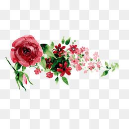 Hand Painted Red Flowers Red Flowers Vector Diagram Background Decoration Png Transparent Clipart Image And Psd File For Free Download Flower Png Images Flower Art Painting Acrylic Painting Flowers