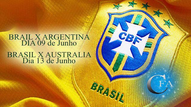 E ai, não quer ficar de fora do Jogo do Brasil contra Argentina dia 09 de Junho ou do jogo contra Australian dia 13 de Junho. Então veja no vídeo como assistir para não perder nenhum lance. Acesse: https://youtu.be/QDCqAeC7Y5A