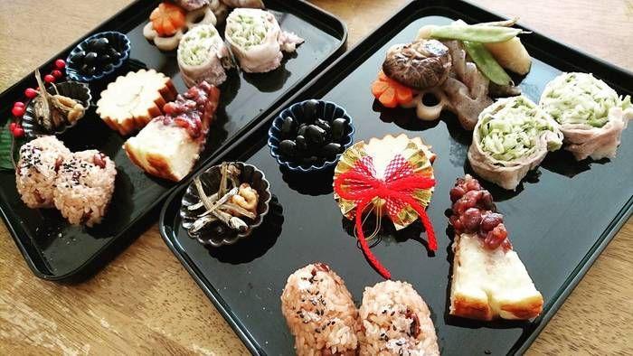 どんどん「お正月」の慣わしなどが簡略化されたり、「洋風おせち」なんてものもありますが、お子さんにも「日本の伝統的なお正月」を知ってもらえるよう、今年は手作りしてみませんか? 食材の意味を話しながらお節を食べるのも、楽しい団らんのひとときになりそうです。