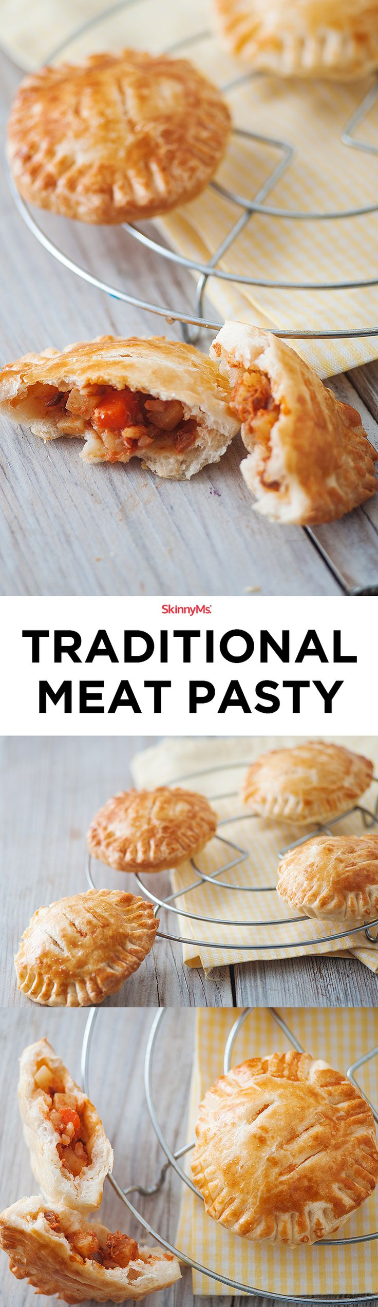 Our Traditional Meat Pasty is made with lean beef and a mix of root veggies.