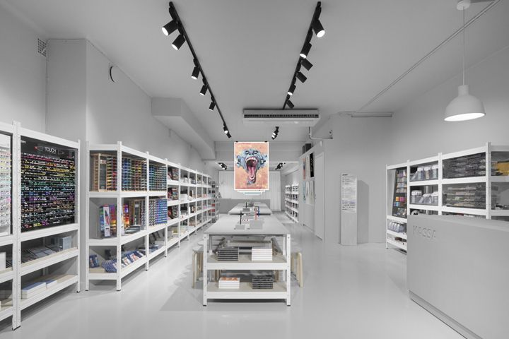 Pen Store by Form Us with Love / Stockholm , Sweden