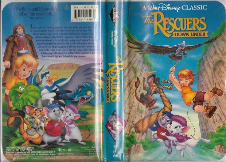 The Rescuers Down Under Walt Disney Black Diamond Classics