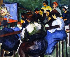 School of Painters - Vilmos Perlrott-Csaba - The Athenaeum