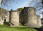 Skipton Castle, one of the best preserved medieval castles in Britain