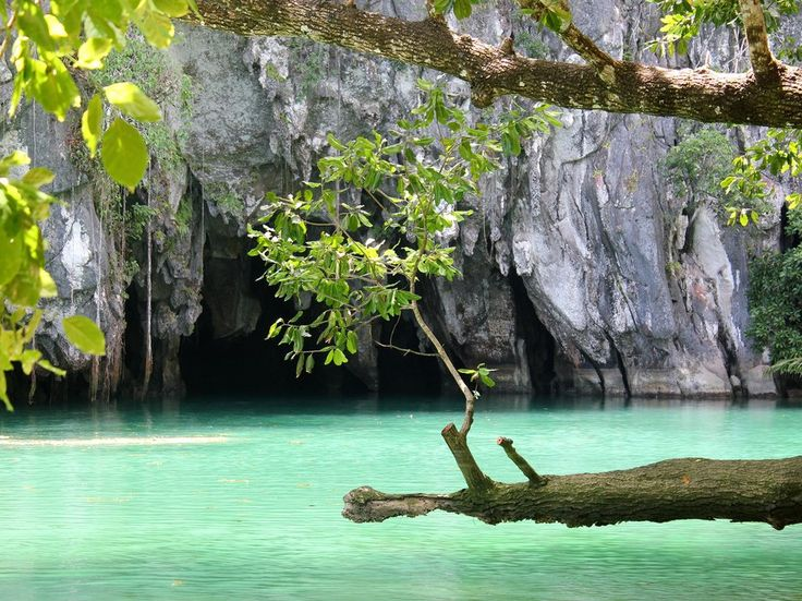 The entrance to the Puerto Princesa Subterranean River, a UNESCO World Heritage Site and one of the New 7 Wonders of Nature.
