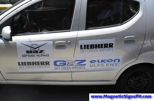 Car Magnet Signs Company Logos With Images Sign Company