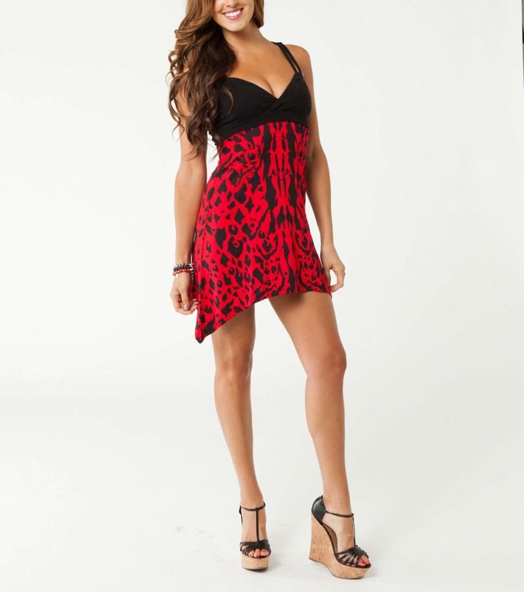 Metal Mulisha Maidens edgy dress. Black and red above the knee. SAVAGE DRESS $44.00