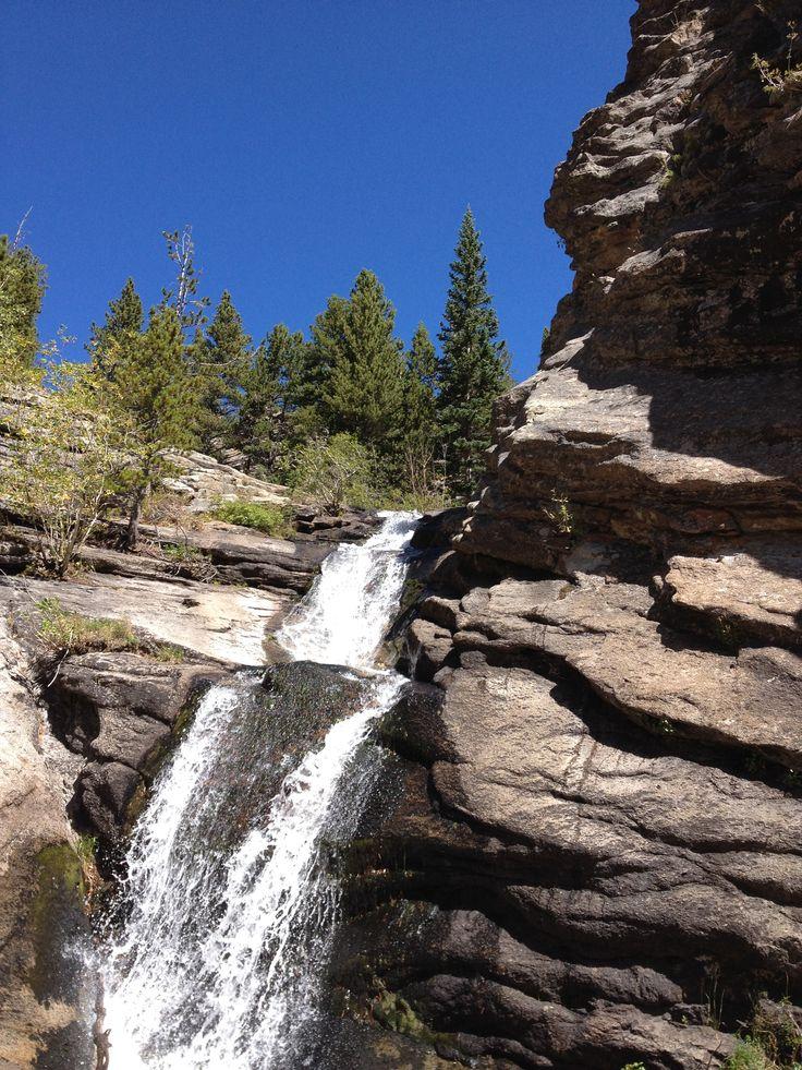 Bridal Veil Falls north of Estes Park