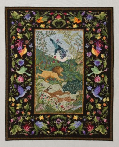 85 Best Images About Miniature Petit Point Carpets And