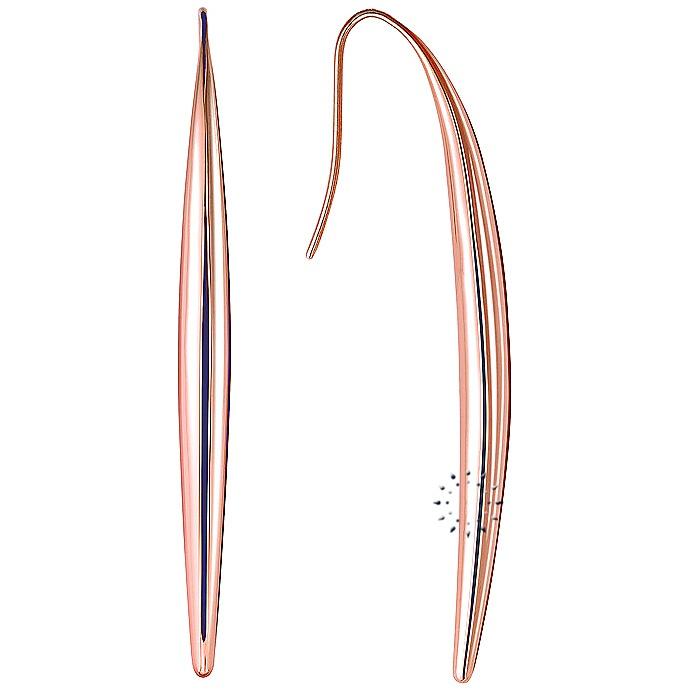 Σκουλαρίκια από ρόζ επιχρυσωμένο ανοξείδωτο ατσάλι της Calvin Klein  77€  http://www.kosmima.gr/product_info.php?manufacturers_id=13_id=17506