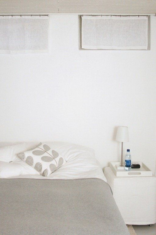 Minimalist bedroom inspiration for a spring cleaning for Grey minimalist bedroom