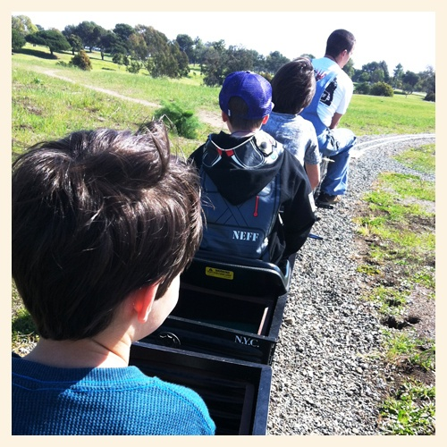 black mens wallet Miniature Train Rides at Goathill Junction Railroad in Costa Mesa