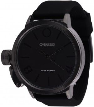 Relógio Esportivo Grande Oversized Hunter 50mm Dark-Black