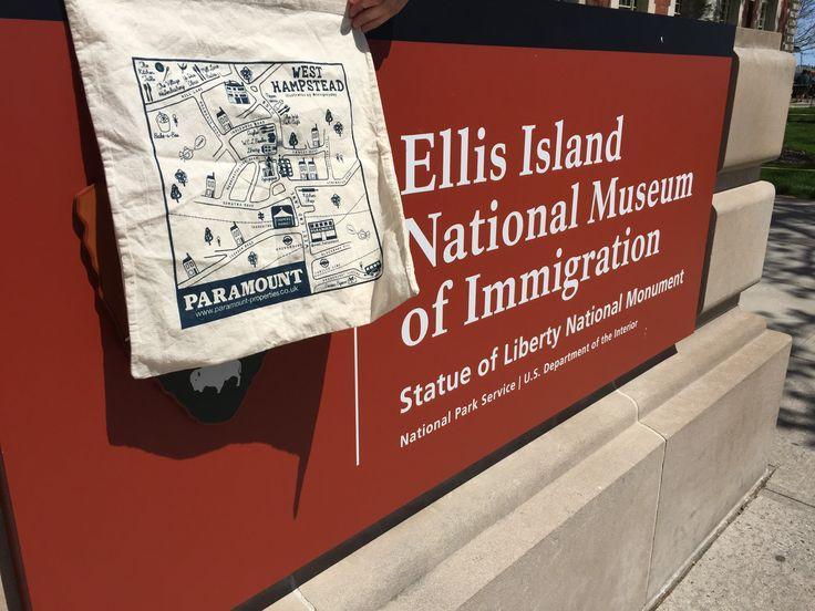 #WhampPlanet at Ellis Island, New York