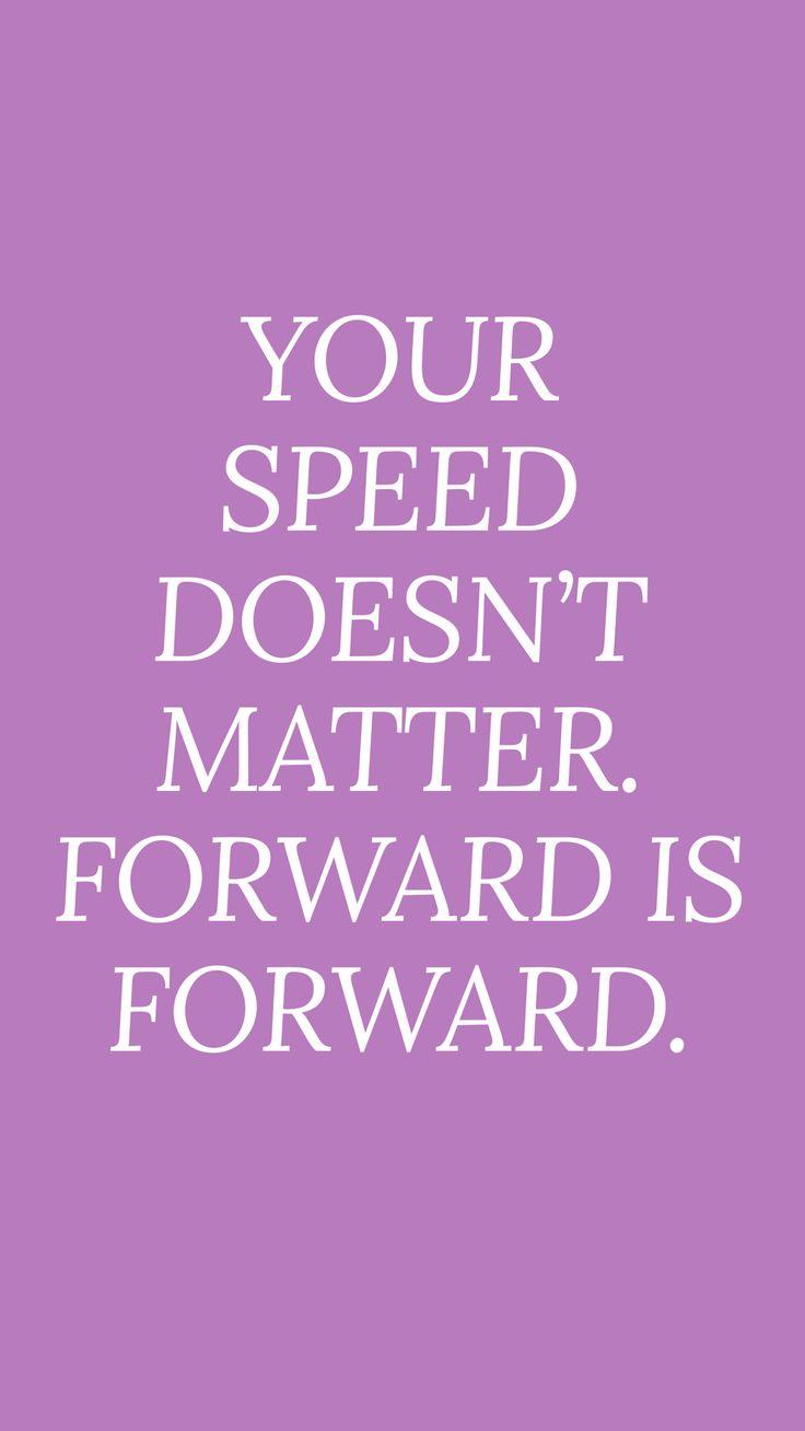 Quotes about progress, motivational quotes, purple ...