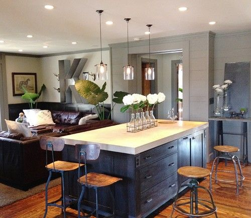 Family Kitchen Design Ideas For Cooking And Entertaining: 17 Best Ideas About Kitchen Family Rooms On Pinterest
