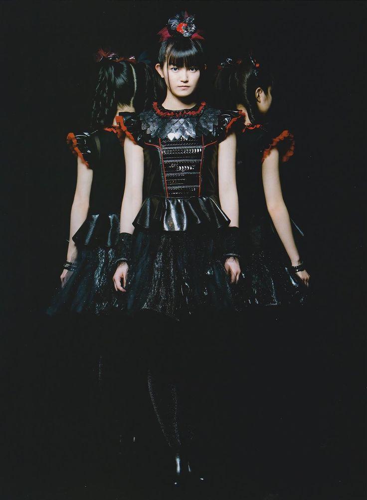 Nakamoto Suzuka: Su-Metal, Queen Su, Empress of the Metal Resistance, Lady Megitsune.