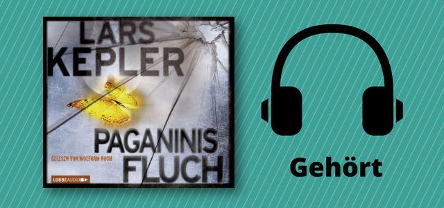 Paganinis Fluch habe ich mir als Hörbuch bei Spotify gegönnt . Das erste Buch des Autorenduos rund um Joona Linna hatte mir ganz gut gefallen, aber Paganinis Fluch fand ich jetzt nicht so doll.   #Bastei Lübbe Audio #Hörbuch #krimi #Lars Kepler #Paganinis Fluch #rezension #thriller