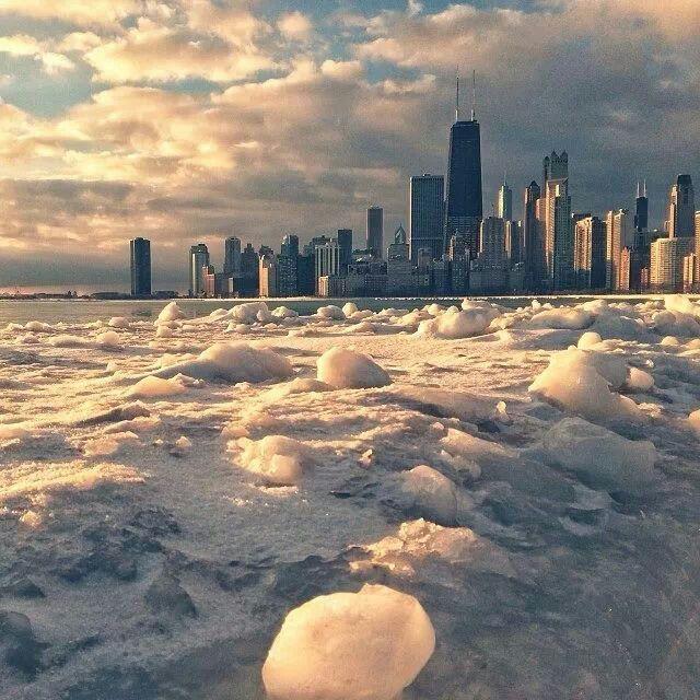 Chiberia- polar freeze in Chicago