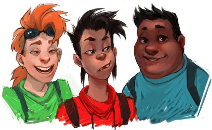 Humanized Versions Of Bobby, Max, And P.J.