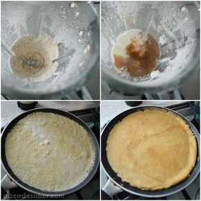 Masa de crepas de avena (sin gluten + fáciles y rápidas de hacer)