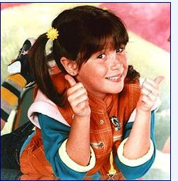 I wanted to be Punky Brewster....
