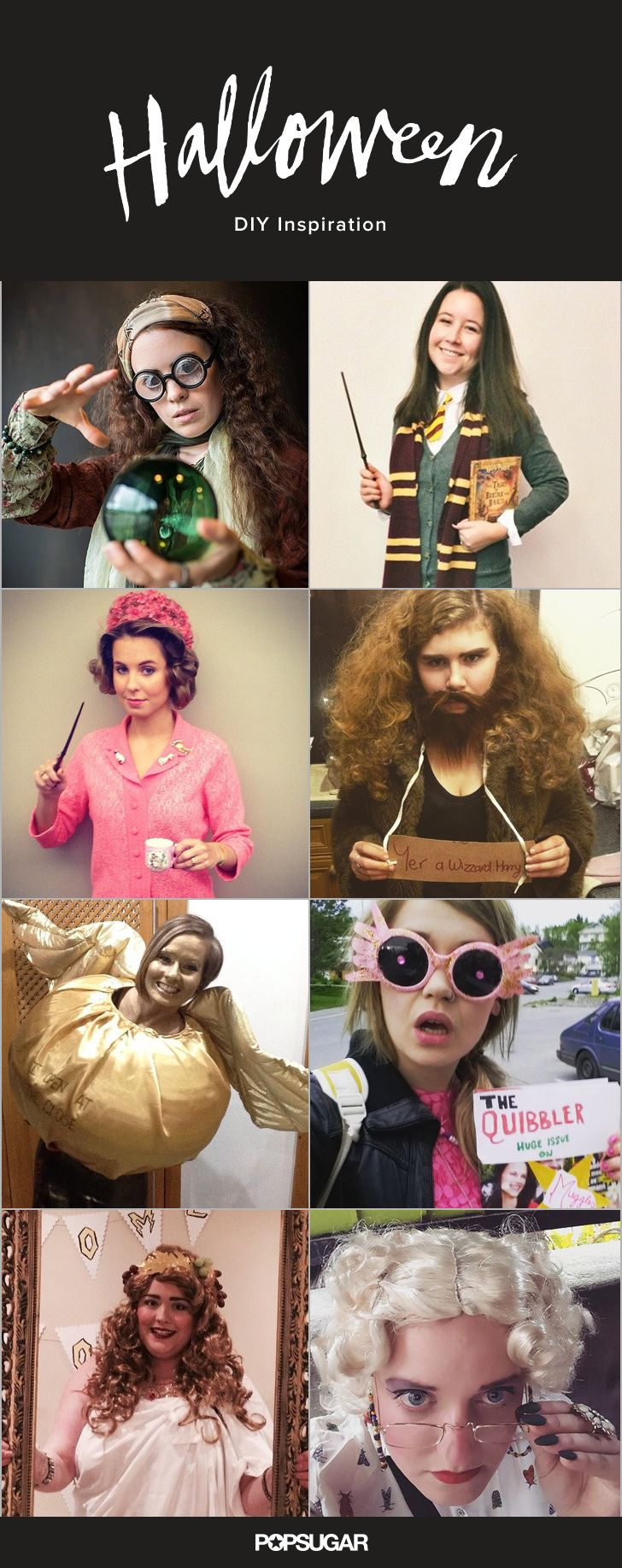 66 DIY Harry Potter Halloween Costumes For the Wizards at Heart                                                                                                                                                                                 More