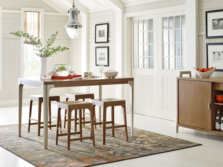 Hygge Dining Room with Pub Table - Rachael Ray Home ...