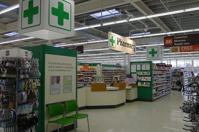 Pharmacy by J Sainsbury, via Flickr