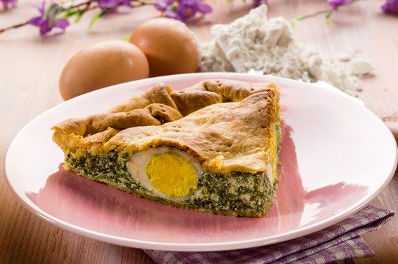 Spinach and Cheese Tart - Cooklet