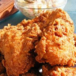 You can't go wrong with this triple #dipped fried #chicken recipe!