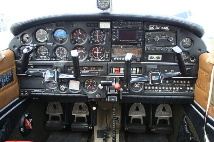 Piper Cherokee Warrior Cockpit Aviation Piper Aircraft
