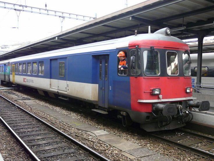 SBB - Rangierarbeiten im Bahnhof Genf am 03.01.2009